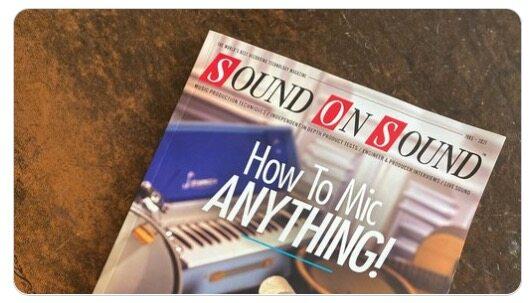 SOS March 2021 magazine on floormat.