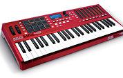 Akai Max 49 controller keyboard.
