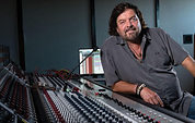 AlanParsons at his new Parsonics recording facility above Santa Barbara, California, where the new masterclasses will be held.