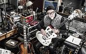 Bill Nelson in his home studio