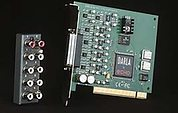 Echo Darla 20 sound card.