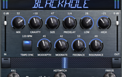 Eventide Blackhole plug-in screenshot
