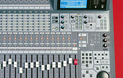 Ramsa DA7 digital mixer - righthand side controls.