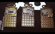 Teenage Engineering PO-14 Office, PO-20 Arcade, PO-28 Robot - NAMM 2016