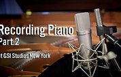 Recording Piano at GSI Studios New York - Part 2
